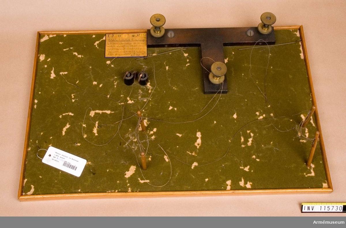 Modell av skjuttidsmätare