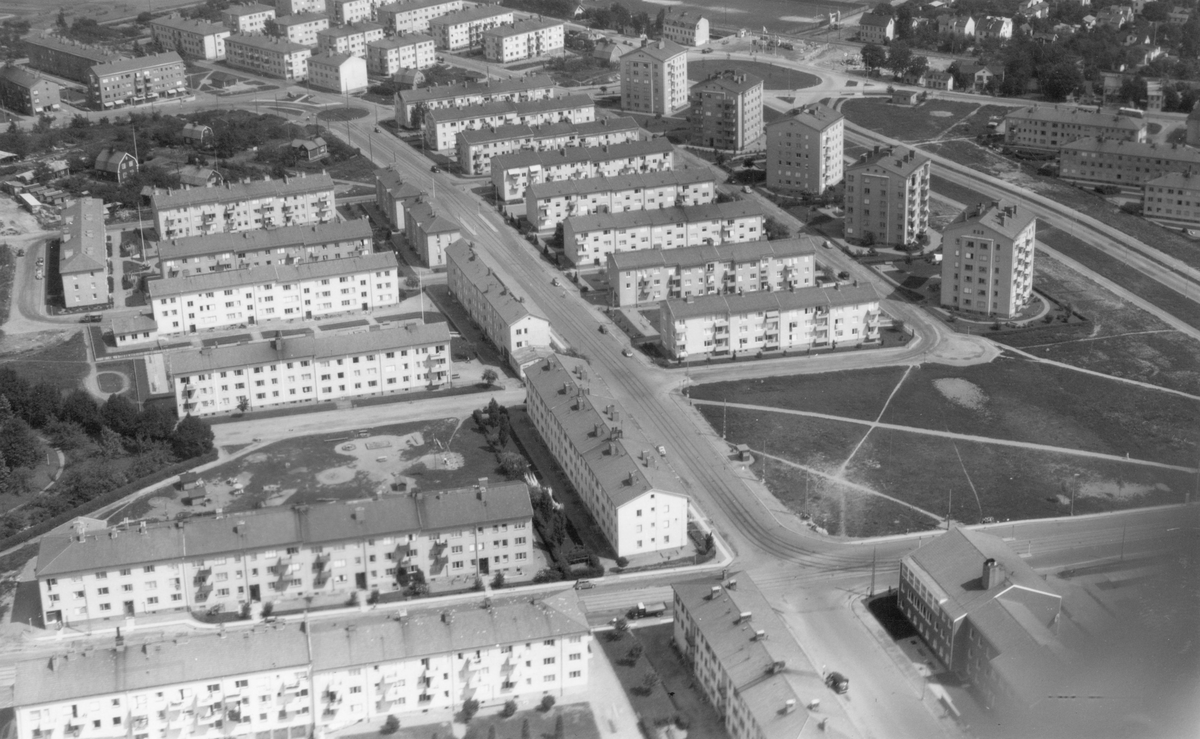 Haga, Norrköping Utefter gamla E4:an Flygfoto