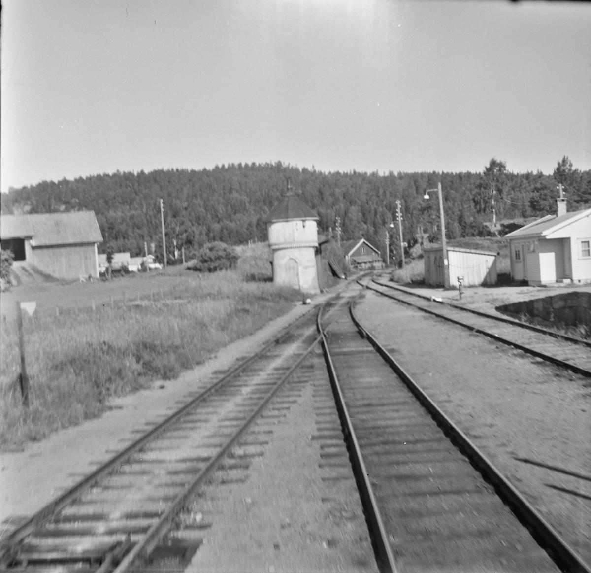 Ved Rise stasjon mellom Arendal og Nelaug.