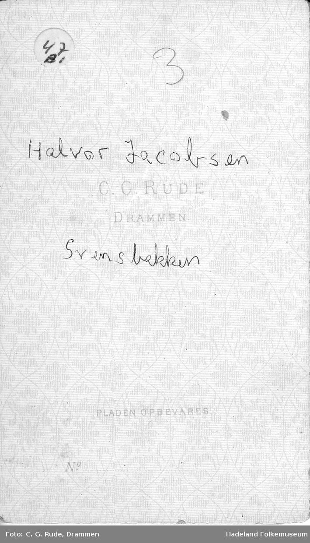 Portrett av Halvor Jacobsen