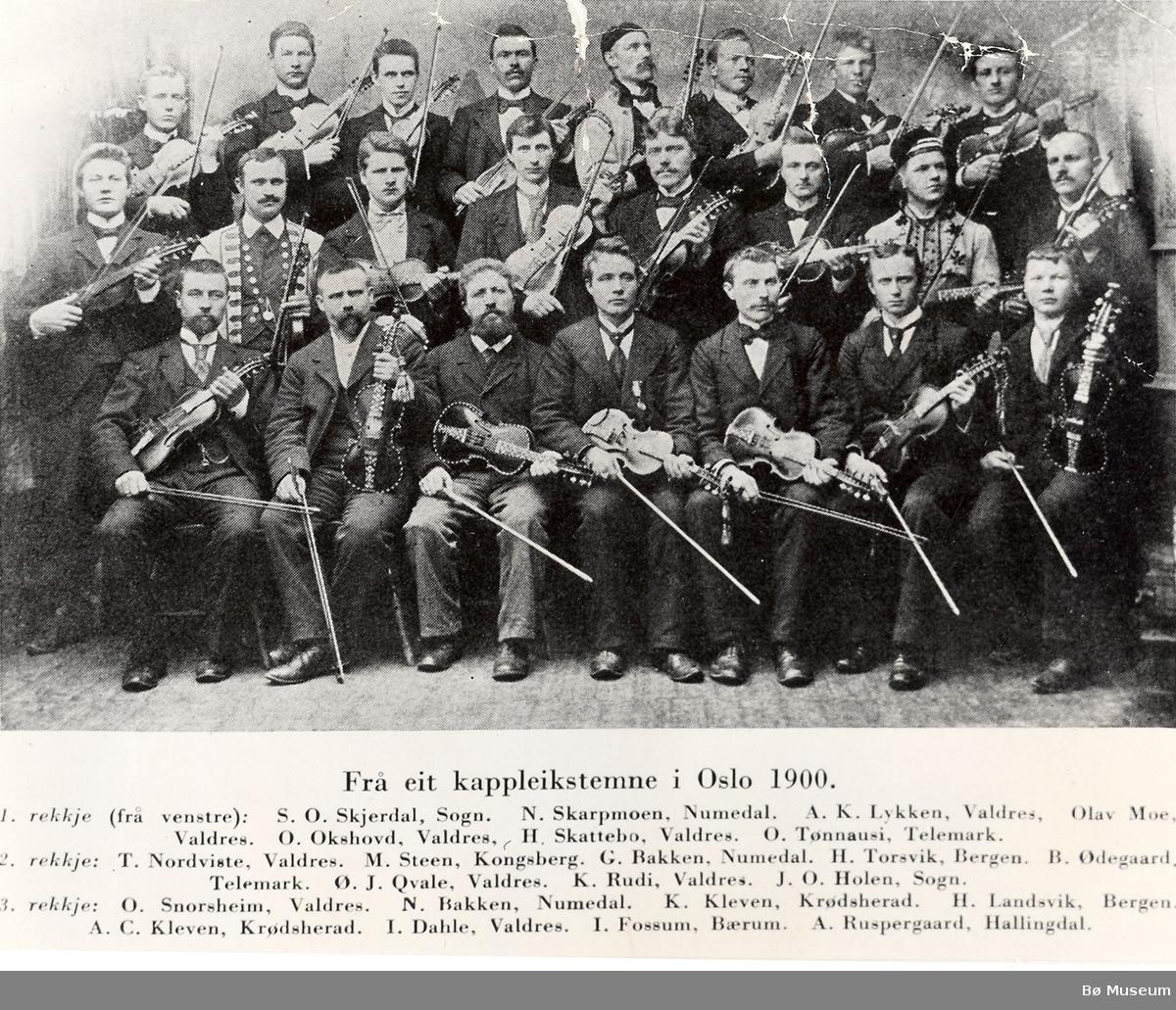 harFrå eit kappleikstevne i Oslo 1900