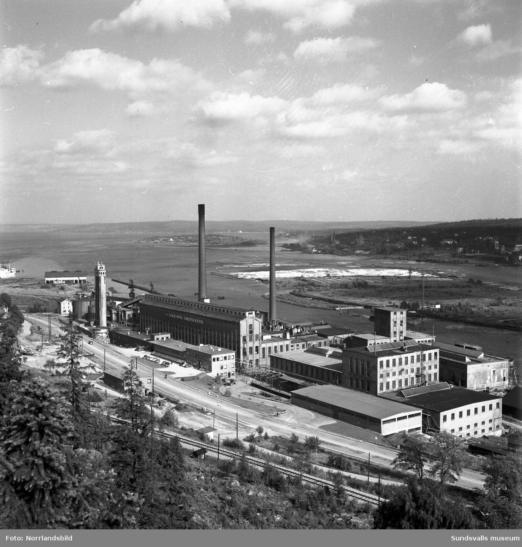 Svartviks sulfitfabrik. exteriörbilder.