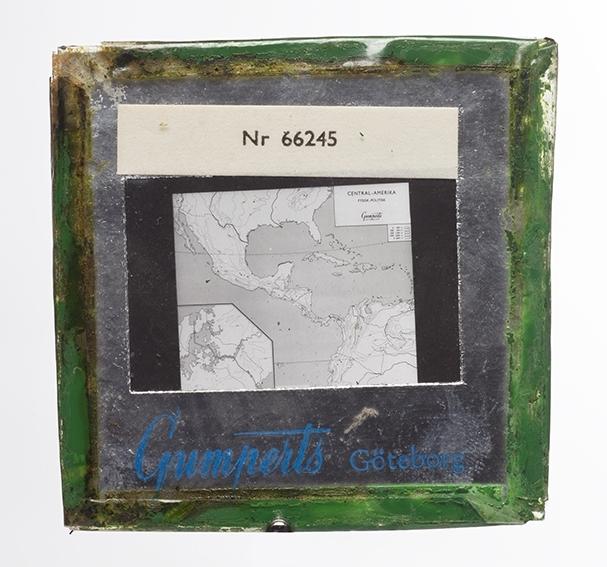 Kart over Mexicogulfen Stempel: NR 66 2 45, Gumperts Gøteborg