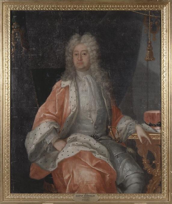 Gustav Cronhielm af Flosta, 1664-1737