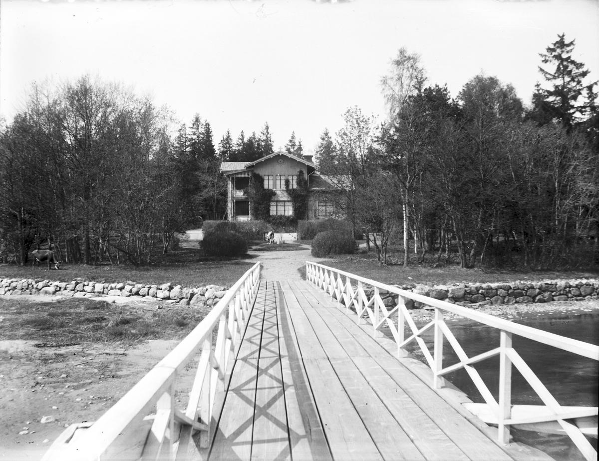 Borgmästare Berggrens sommarvilla Katrineborg på Norrlandet, Gävle.