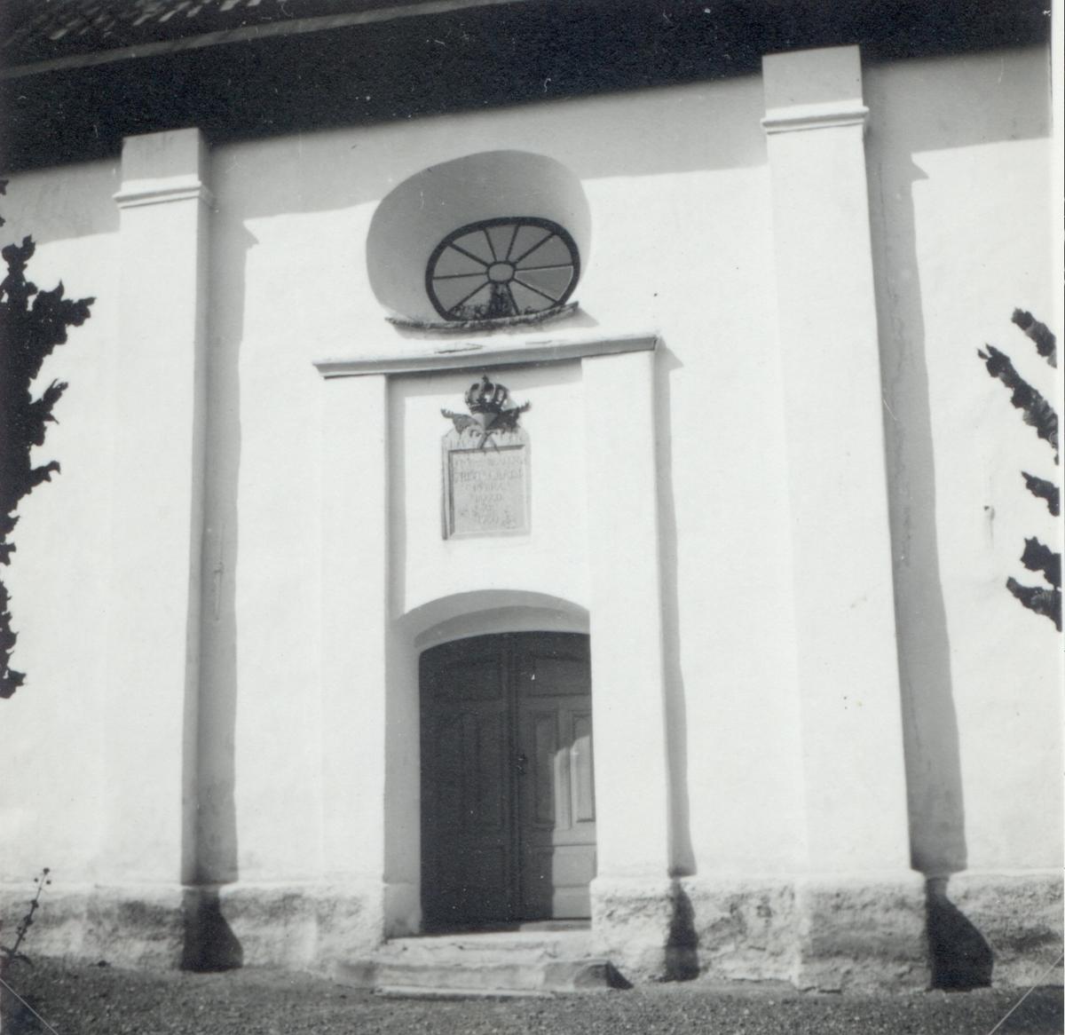 Port på Loftahammars kyrka.