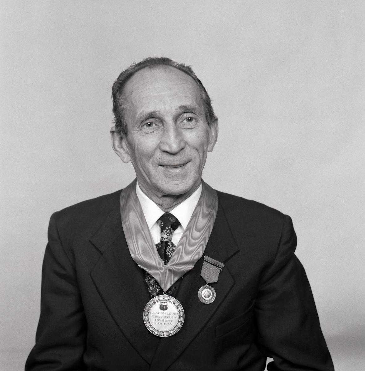 Æresmedlem og Strømmen IFs første formann, Haakon Levin
