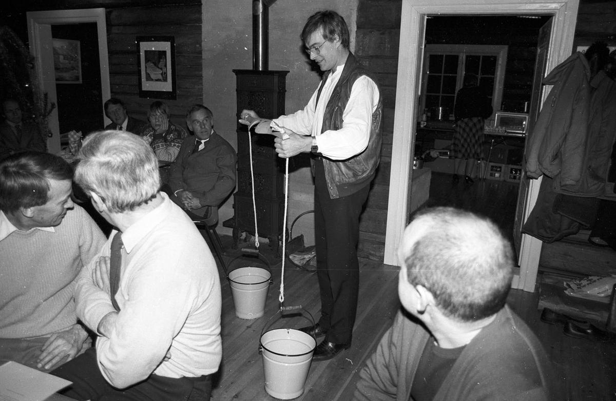Offisiell åpning av Sandbekkstua 1983