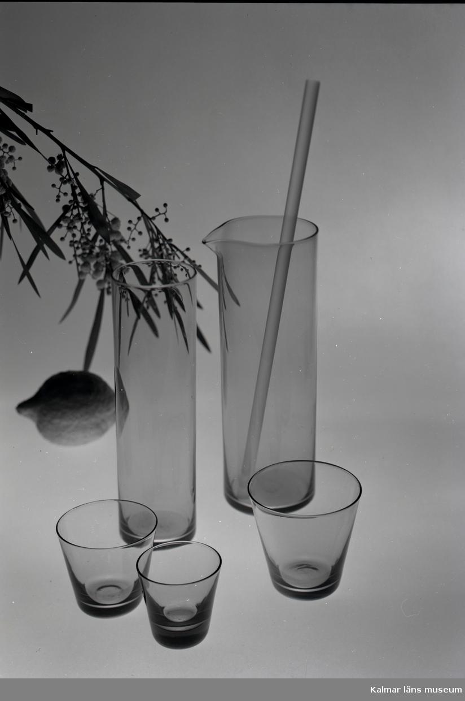 Ur Skrufs glasbruks kollektion.