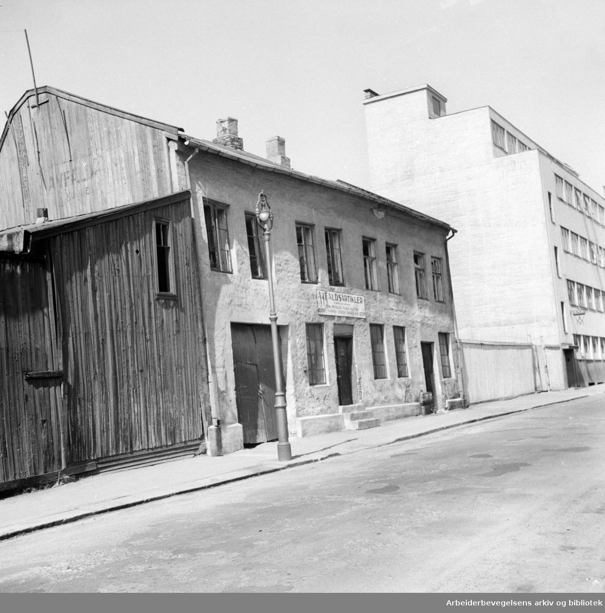 Stockholmgata 2. Juli 1955