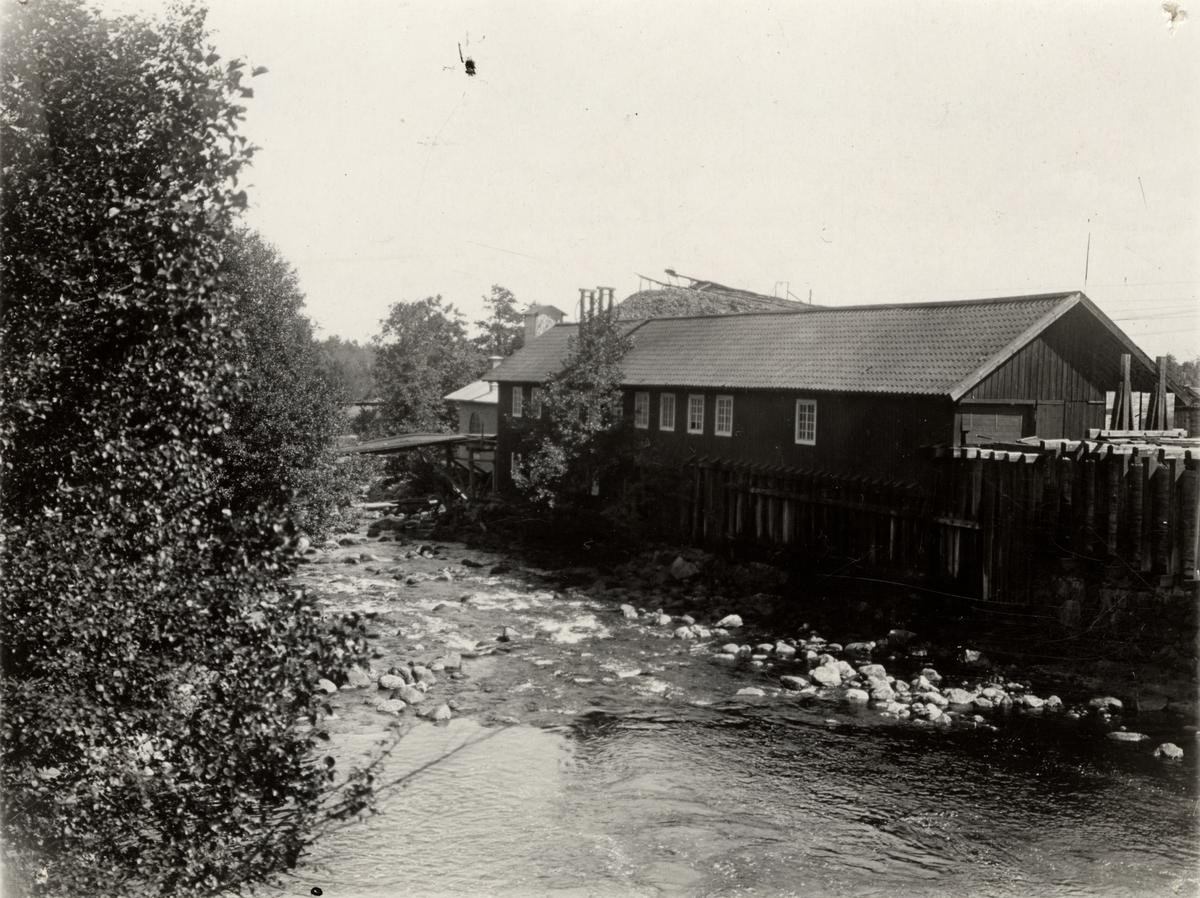 Sågen vid Östanfors, 1916.