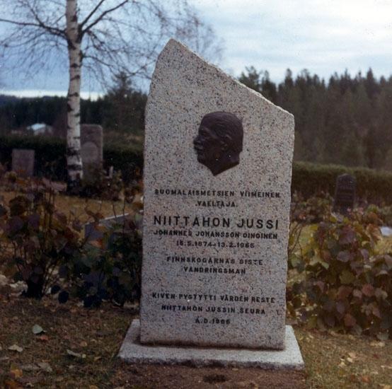 Nittaho-Jussis gravsten