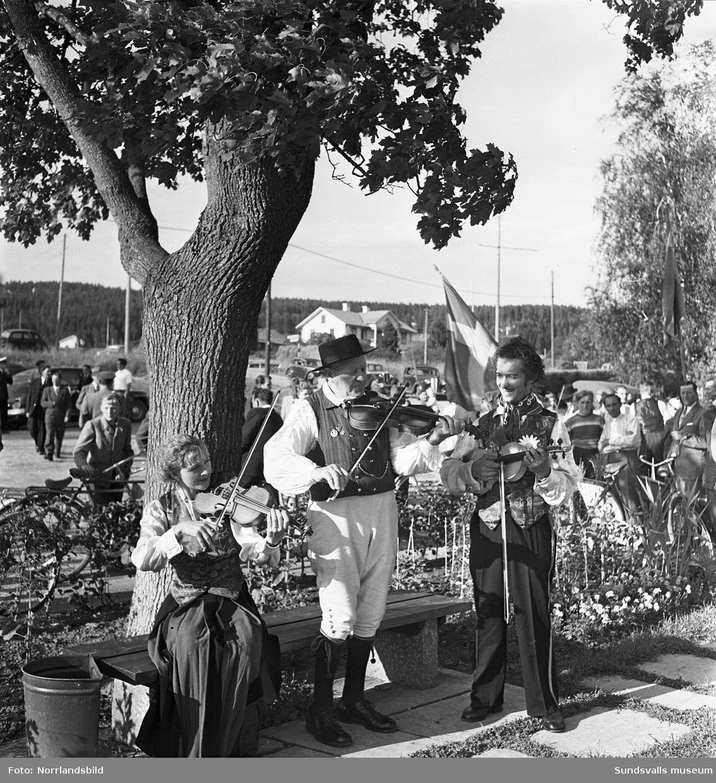 Riksspelmansstämma i Stöde med musiker från bland annat Norrbotten, Hälsingland, Medelpad och Stockholm.