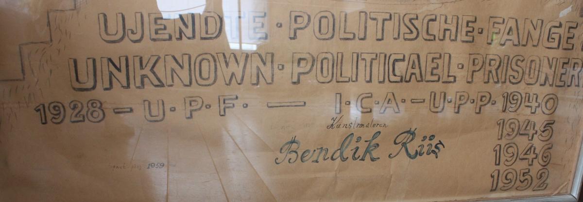 Ukjent politische fange