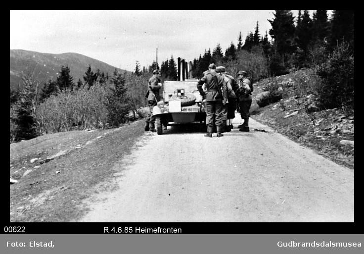 Venabygd mai 1945, Ringebu