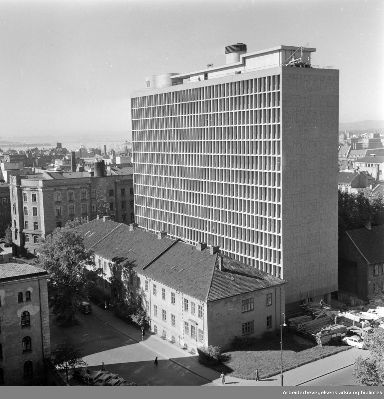 Regjeringsbygningen. September 1958