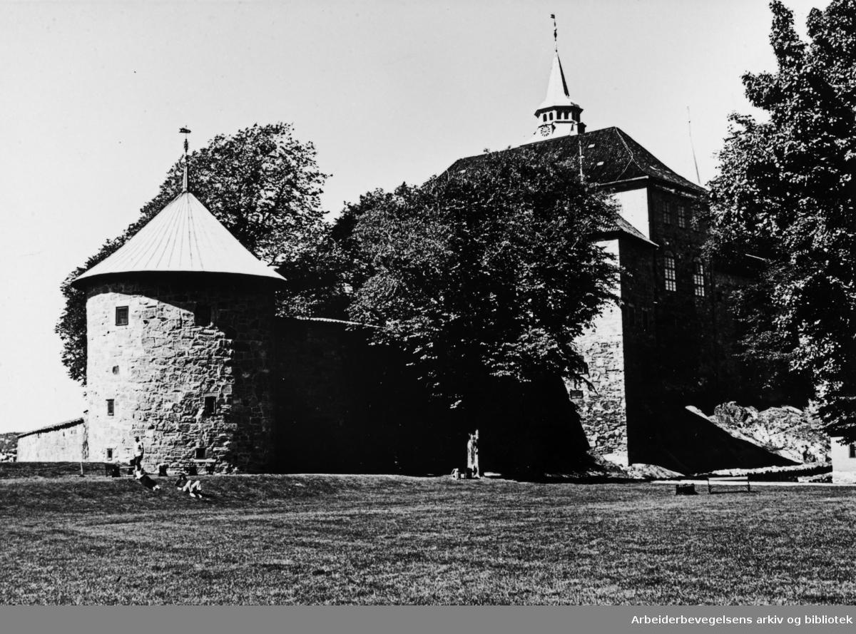 Akershus Festning. 1983