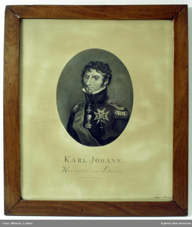 Sveriges kronprins Karl Johan.
