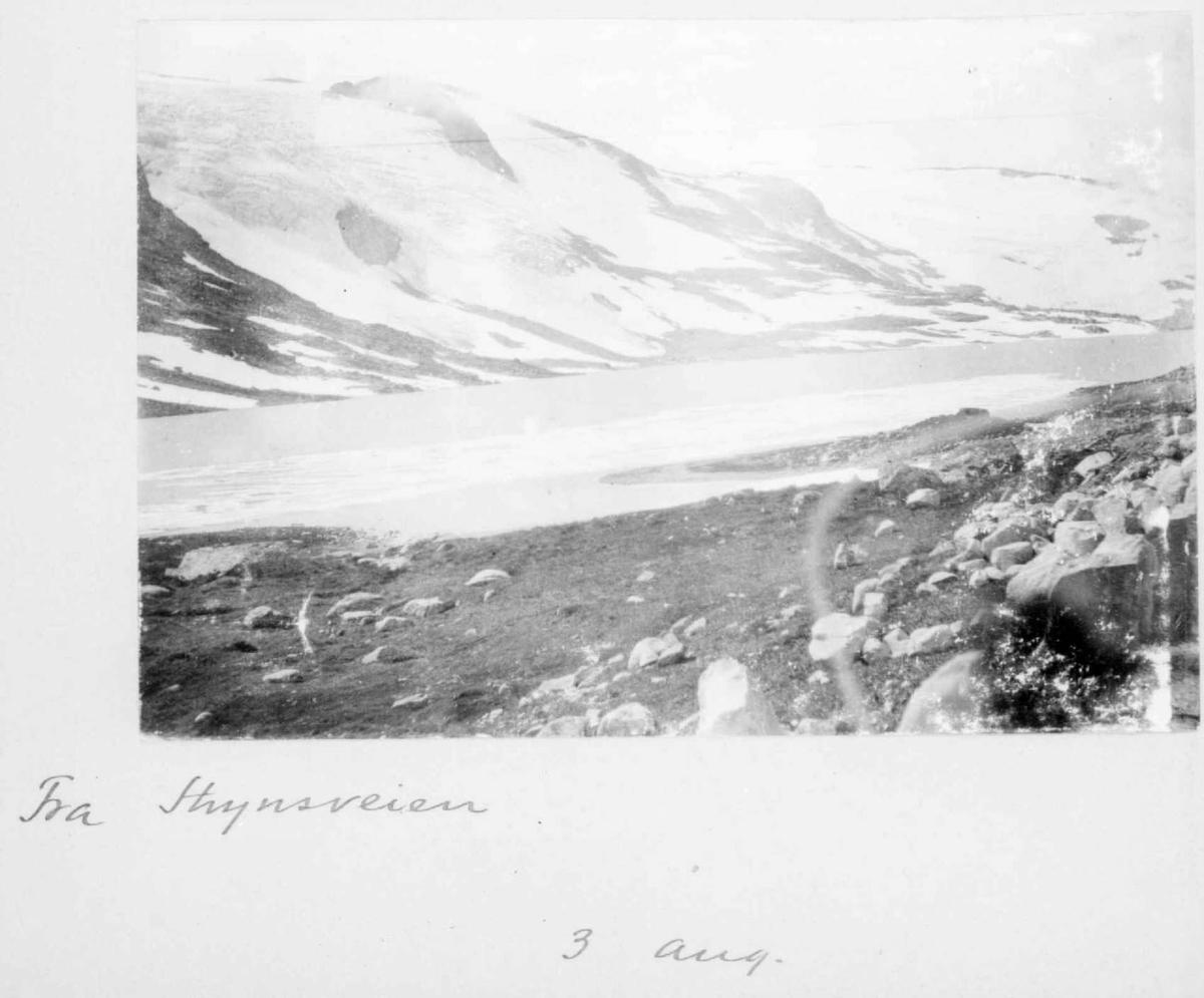 Repro: Landskapsbilde, fjell.