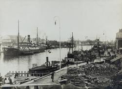 Smedasundet sett mot nordvest, ca. 1928.