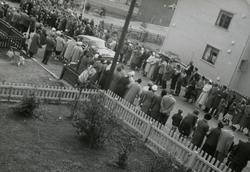 Kongebesøket i Vadsø, 1958.