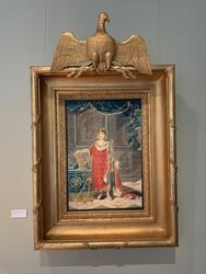 Kejsare Napoleons kröningsporträtt [Akvarellmålning]