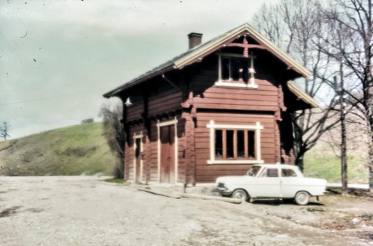 Fra Røykenvik stasjon