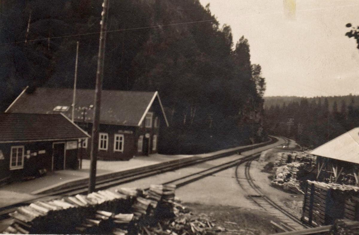 Oklungen stasjon på Vestfoldbanen.