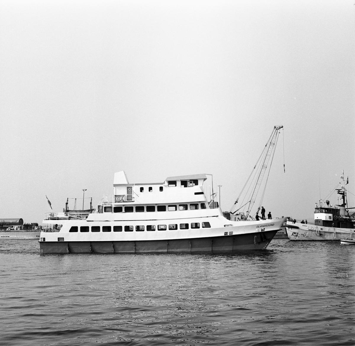 Sjösättning av Katamaren