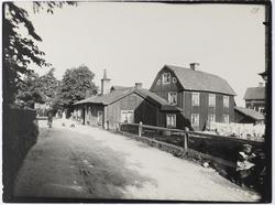 Rackaregränd, här bodde stadens skarprättare på 1700-talet.