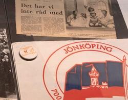 Stadshistoriska utställningen i arkivhuset. Jönköpingsposten