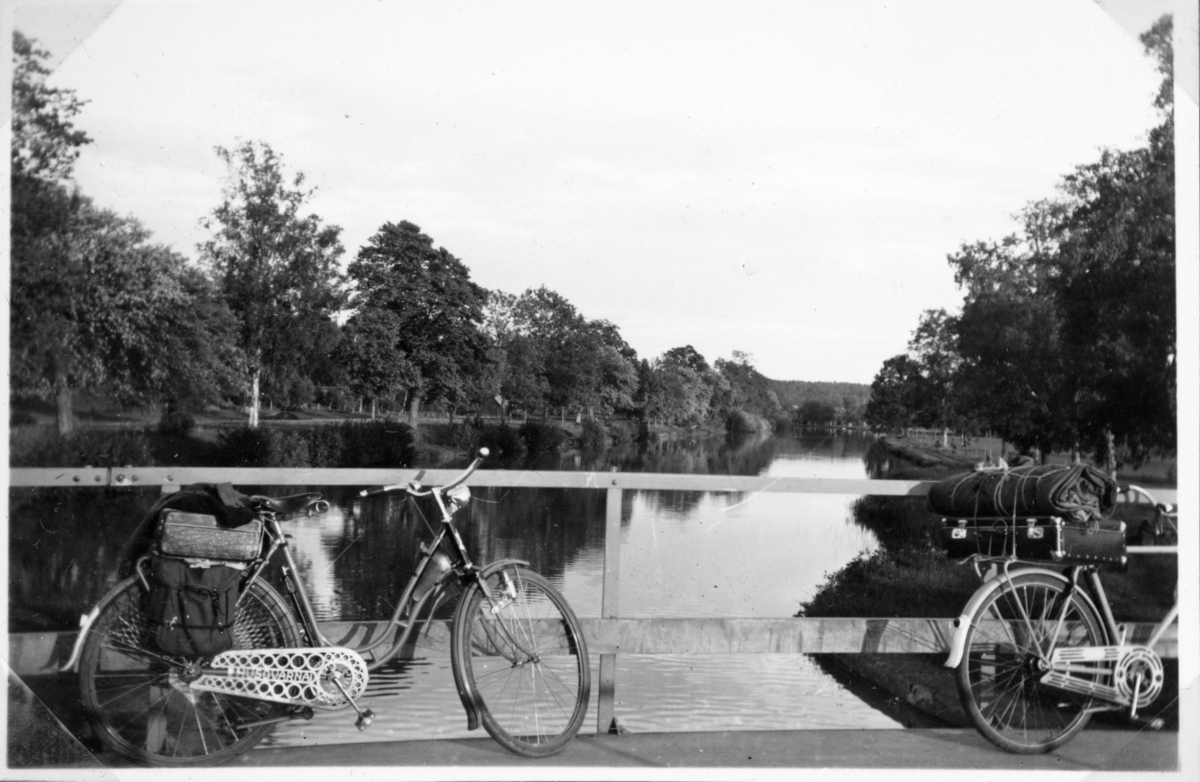 Vänern runt på cykel. Göta kanal, Lyrestad