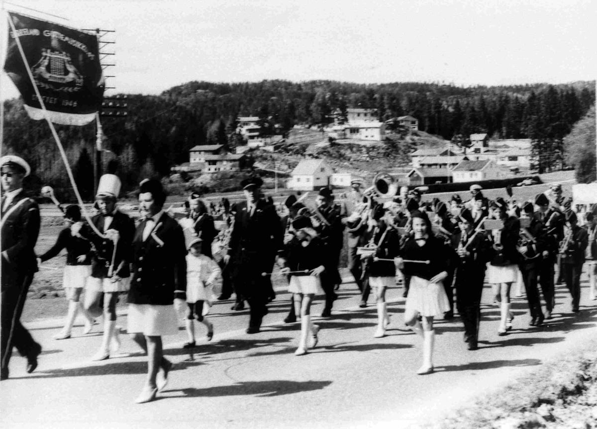 Bilder fra Birkenes kommune Birkeland musikkorps mai 1969