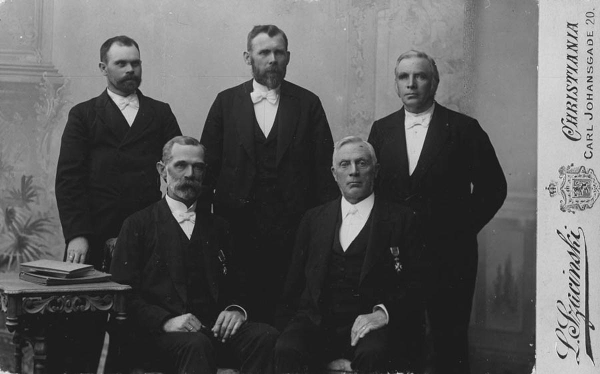 Stortingsrepresentanter amt. 1898-1900.