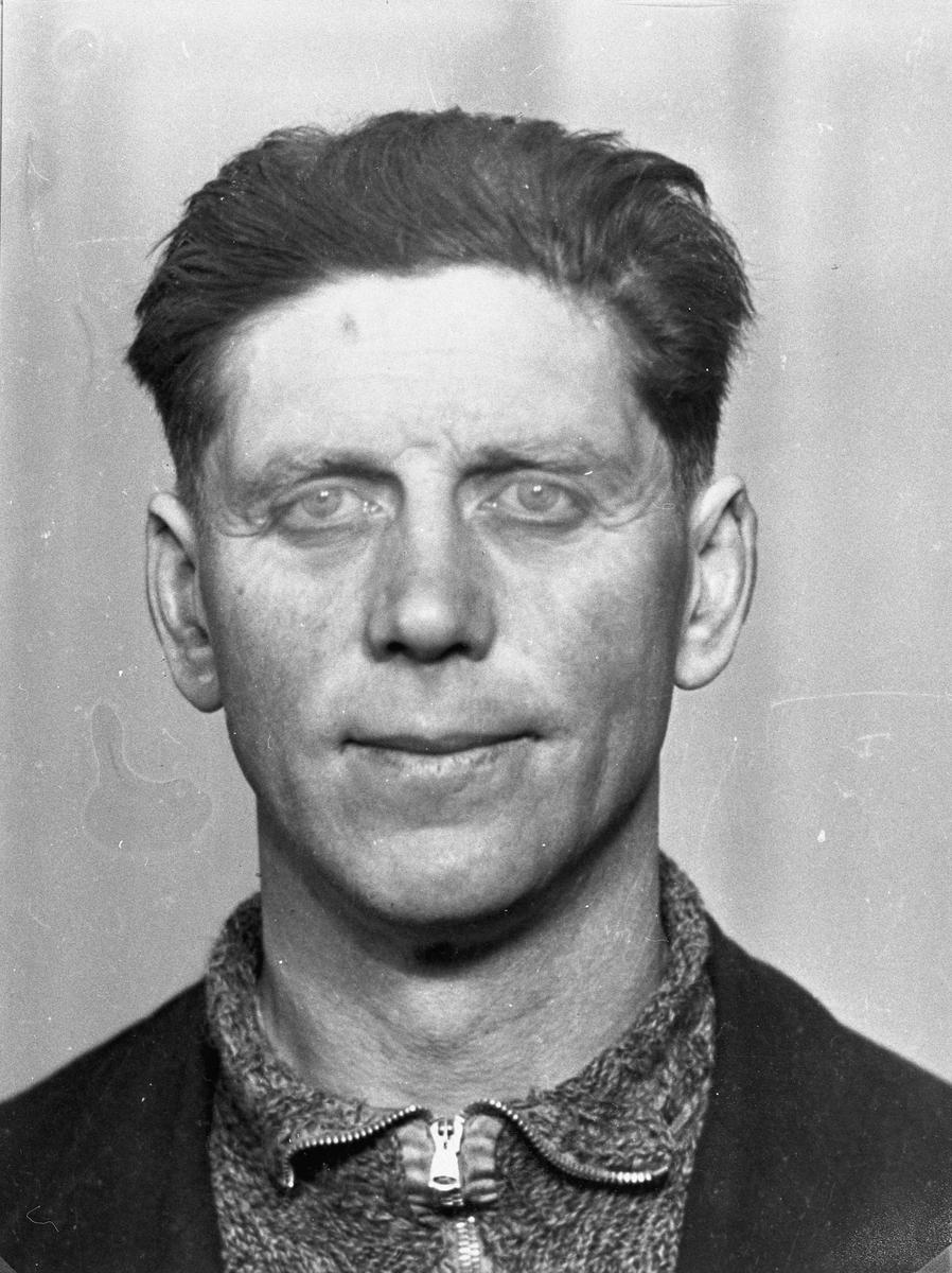 Gunnar Strand. Død 31. mars 1944 i konsentrasjonsleir i Tyskland.