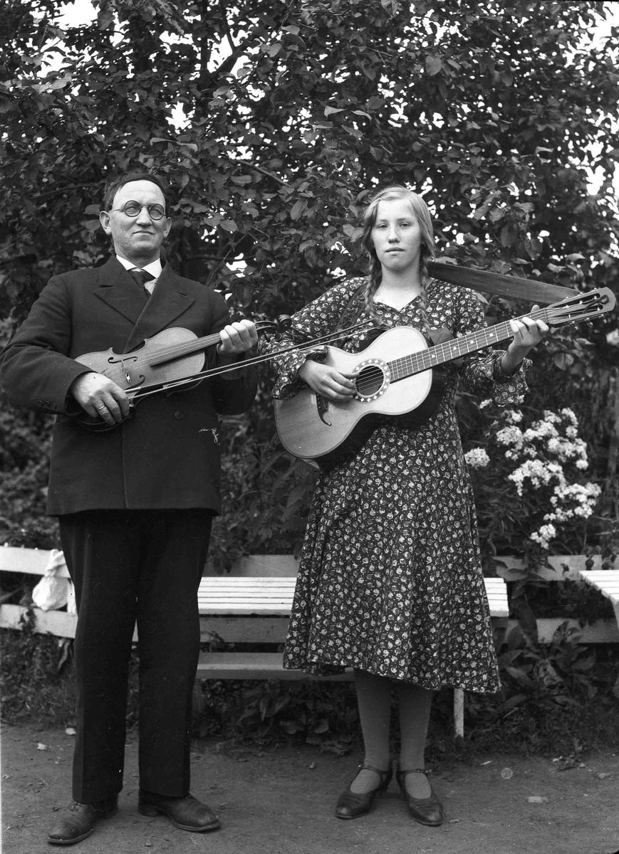 Portrett - 2 musikere