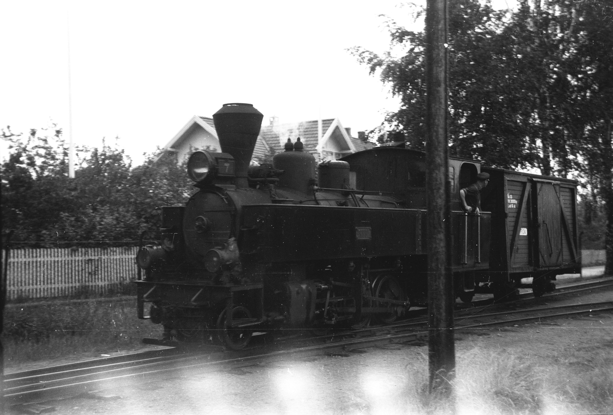 Skifting på Sørumsand stasjon.
