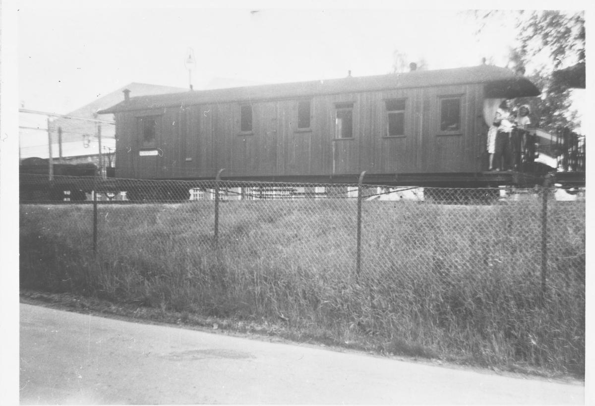 Vogn CFo5 på Sørumsand stasjon
