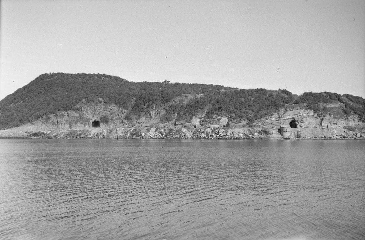 Tyske depoter og bunker ved Ladehammeren Sverresborg