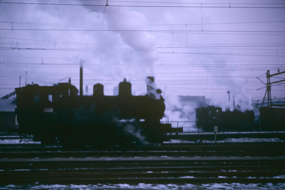 Damplokomotiver i skiftetjeneste på Oslo Ø