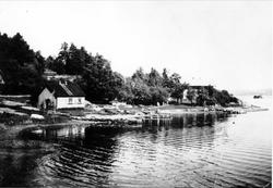 Oslo Godtemplarungdomslags feriehjem Kirkevik, Nesodden. Bil