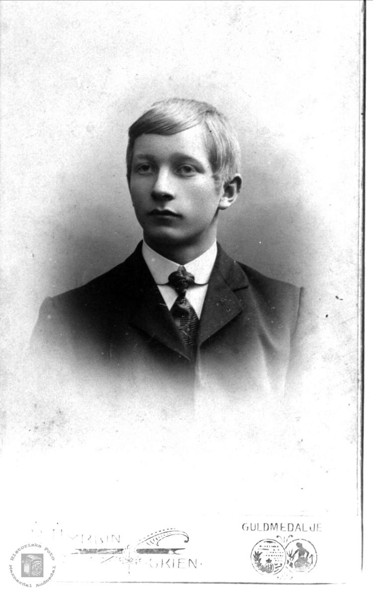 Portrett av Ole Kolstad