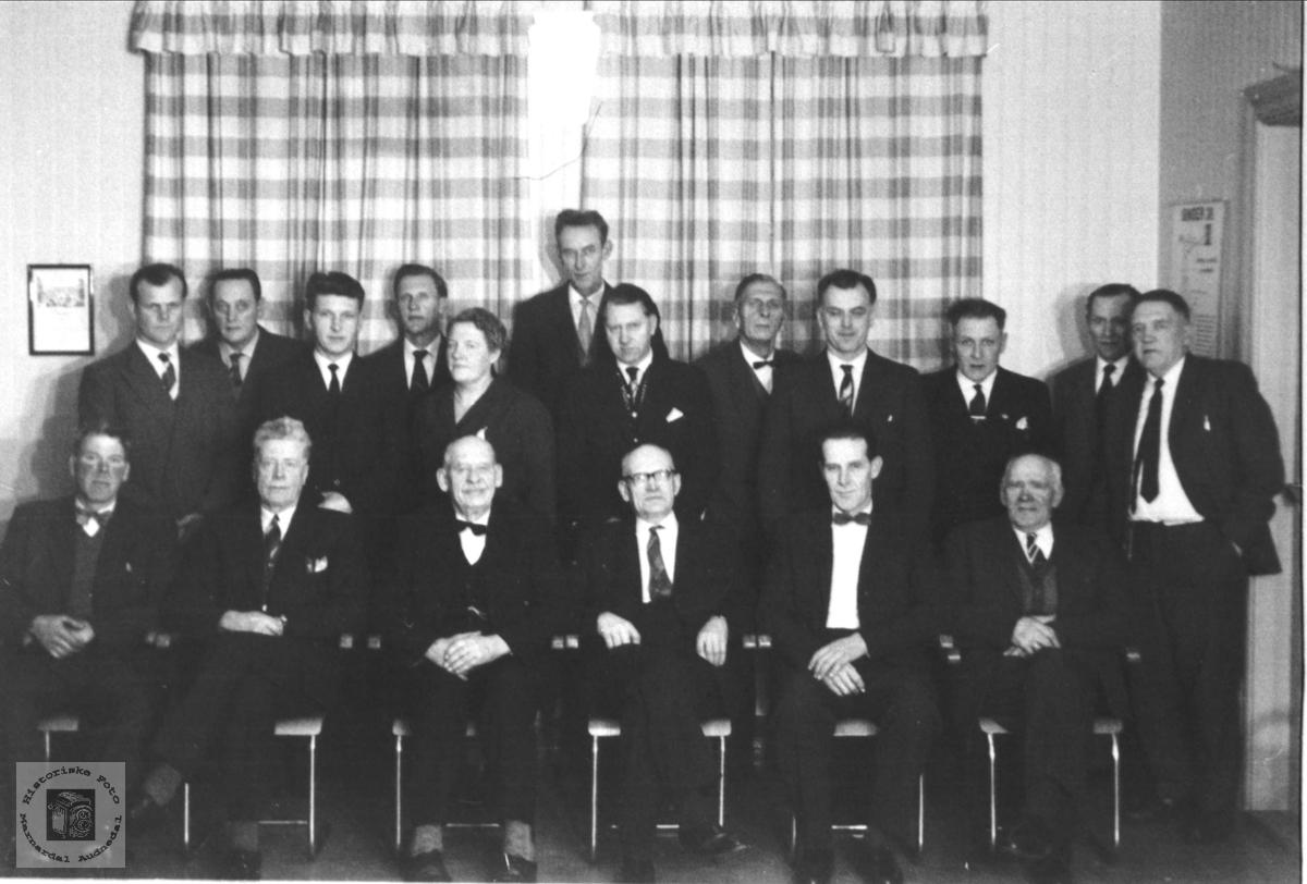 Øyslebø kommunestyre 1960-1963.