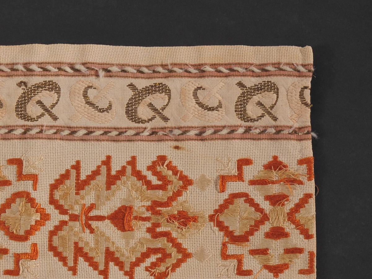 Striper, geometrisk mønster, flettebord