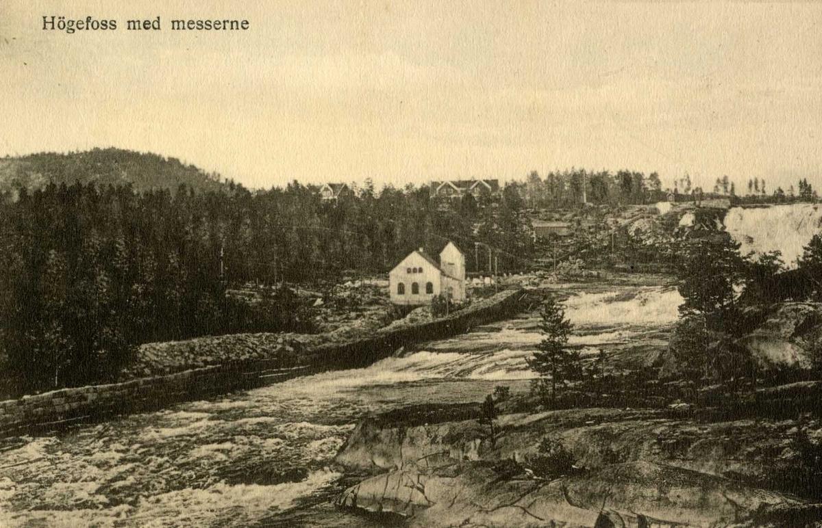 Åmlibilder Høgefoss med messerne