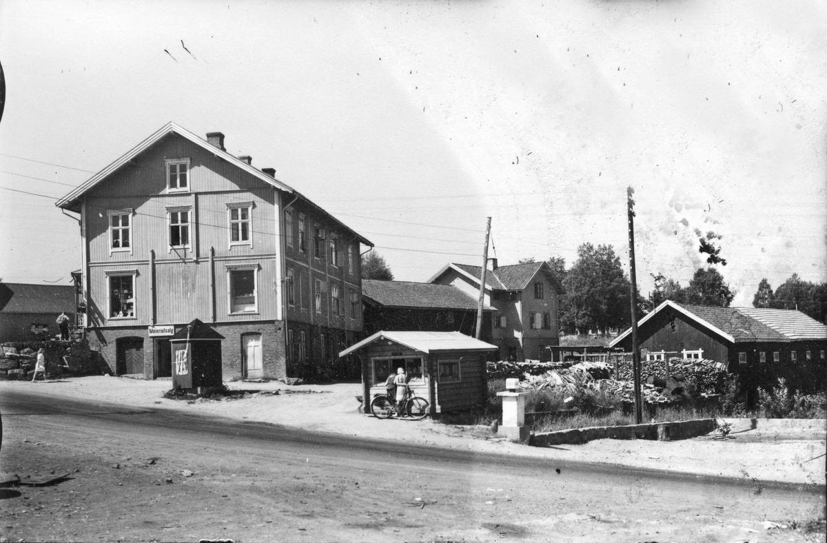 Pirotoppen på Eidsvoll Verk, trolig på 1950-tallet.