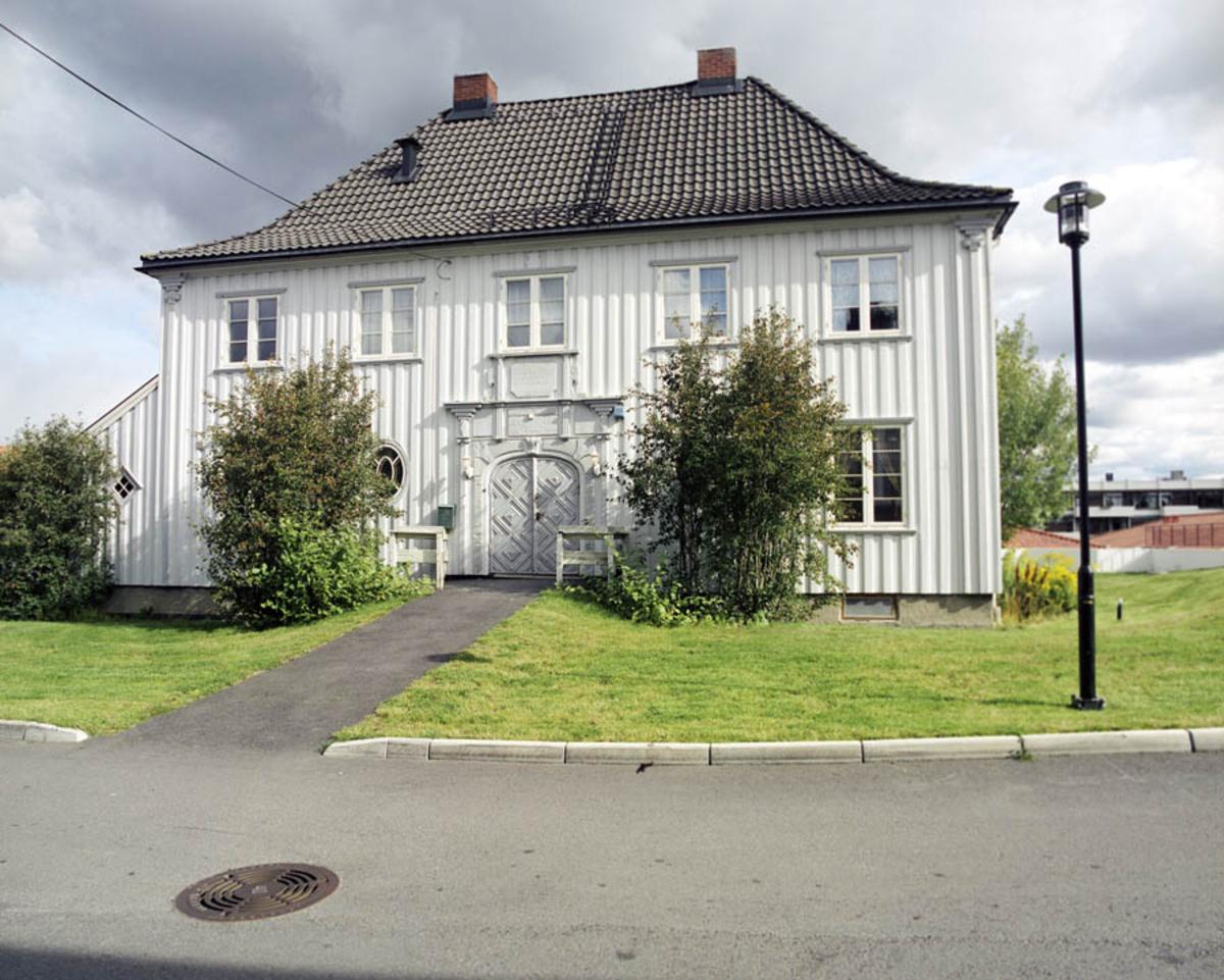 Hovedbygningen på Søndre Stalsberg gård. (Senere Stalsberg aldershjem)