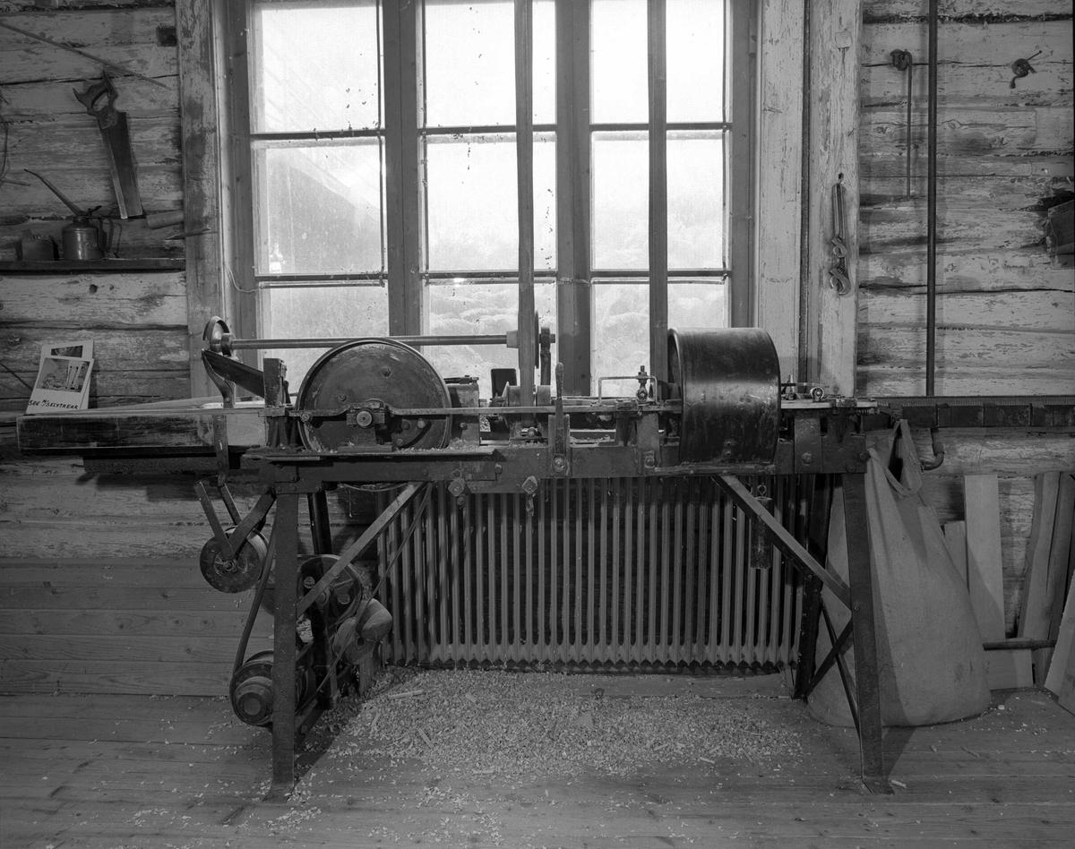 Svartdahl Bruk Maskin 101-1 Bærepinnemaskin fra 1930