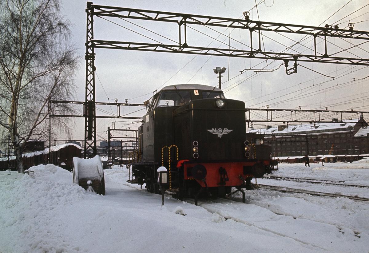 Skiftelok type Di 2 på Oslo Ø